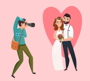 Wedding Photographer and videographers at weddings
